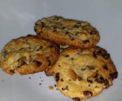 Cookies aux pépites de chocolat (avec ou sans oeufs !) - WW => 3SP ou 3PP