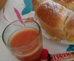L'Amérine (Jus d'orange, fraise et nectarine
