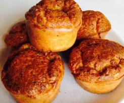 Muffins chèvre et courgette