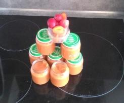 Compote de pommes et prune