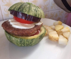 Hamburger à la courgette