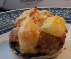 champignon farci jambon tartare