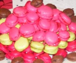 Les macarons à la framboise de Cocotte