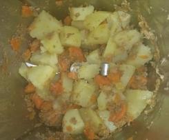 Boeuf, carottes, pommes de terre