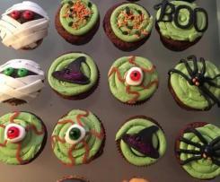 Cupcakes Halloween au butternut