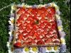 Tarte aux fraises aux 3 chocolats