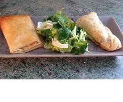 Duo de croustillants aux légumes frais