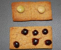 Petits sablés rapides en dominos