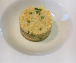 Risotto petits pois carotte