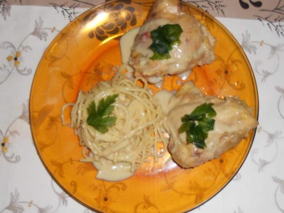 Haut de cuisse de poulet sauce curry par doun1965 une - Cuisse de poulet en sauce ...