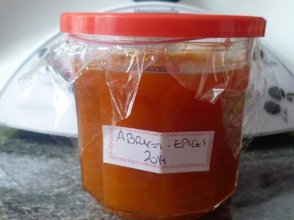 confiture abricot epices