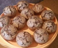 Muffins tout chocolat