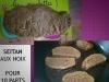 Seitan aux noix - Végétalien