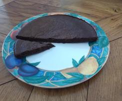 Gâteau chocolat compote de pommes