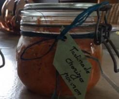 Tartinade au chorizo et poivron