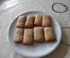 financiers au noisettes
