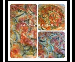 Tarte courgettes et viande haché