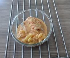 Pavé de poisson sauce chorizo