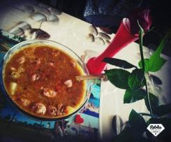 Soupe de Lentilles et saucisses de Toulouse