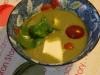 Soupe d'été roquette/Mozza