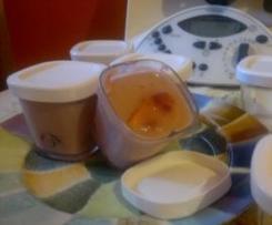 yaourts à l'agar agar façon Andy