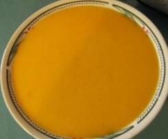 Potages aux divers légumes et courge butternut