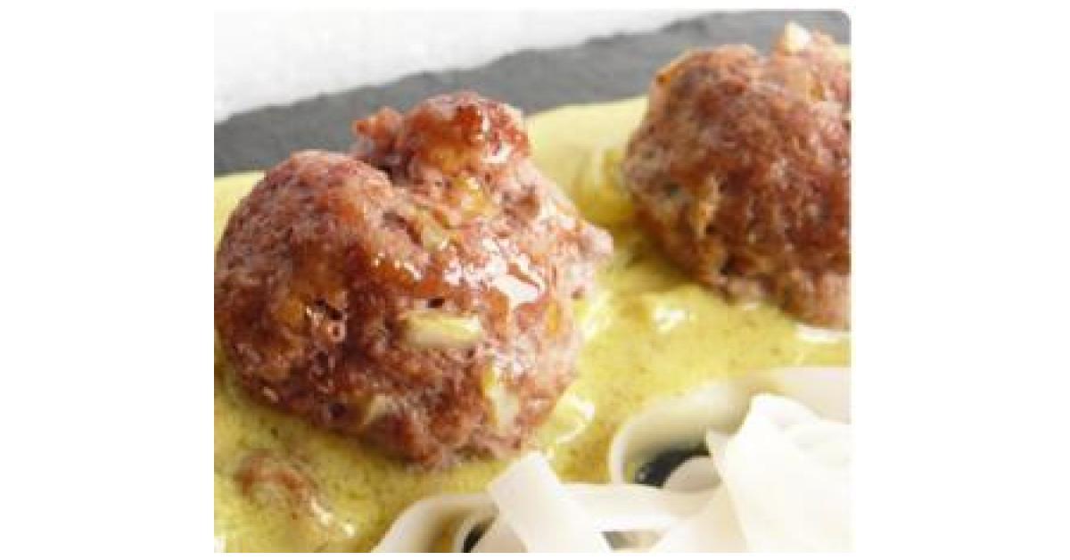 Boulettes de viande en sauce par julie f une recette de fan retrouver dans la cat gorie - Boulette de viande en sauce ...