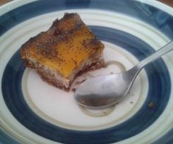 Cheescake mangue spéculos pavot
