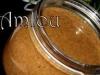 Amlou (pâte à tartiner marocaine à base d'huile d'argan)