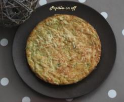 Tortilla de pommes de terre et poireaux