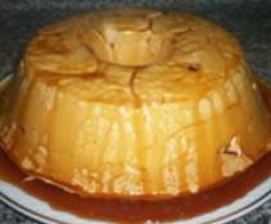 Pudding Molotov (simple ou à la crème d'oeufs)