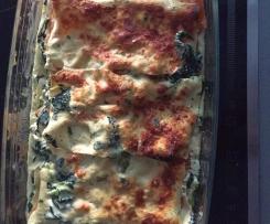 """Variante de Lasagne """"healty"""" carotte / épinard RAPIDE"""