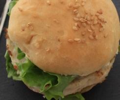 Hamburgers poulet avocat pour l'apéritif