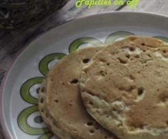 Pancakes banane et petit épeautre (sans oeuf, pour allergiques)