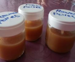 Compote Pommes/Poires ou Pêches