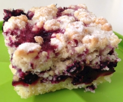 Crumble Barre aux fruits rouges