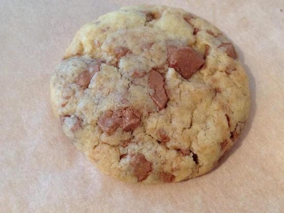 Cookies juste moelleux au chocolat milka par roxane2607 - Recette cookies chocolat moelleux ...