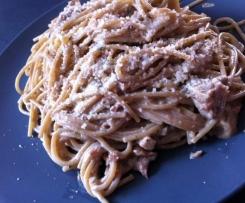 Spaghetti sauce jambon/champignons