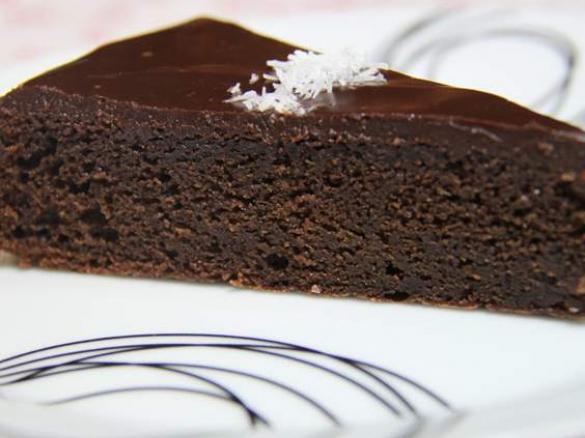 g teau chocolat avec gla age choco facile par karo91530 une recette de fan retrouver dans la. Black Bedroom Furniture Sets. Home Design Ideas