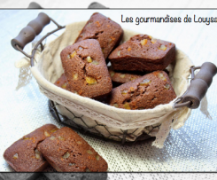 Financiers Orange, Chocolat, Cannelle