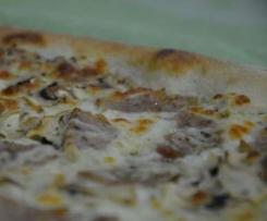 Pizza à l andouillette