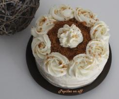 Layer cake spéculoos et chantilly