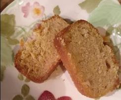 Cake au ras el-hanout glacé fleur d'oranger