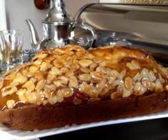 Cake aux fruits confits ( Dundee cake)