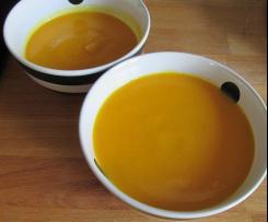velouté de carottes-curry