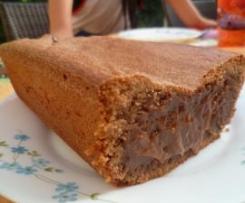 Gâteau crémeux au chocolat pralinoise