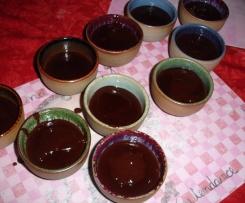 Crème au chocolat au lait de noisettes