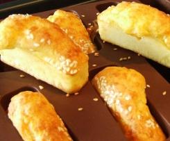 Mini cake comté et graines de sésame