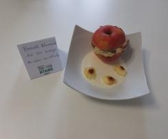 Pomme Normande sur son nuage de crème au calvados