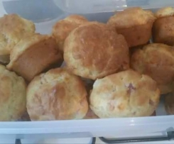Muffins lardons vache qui rit